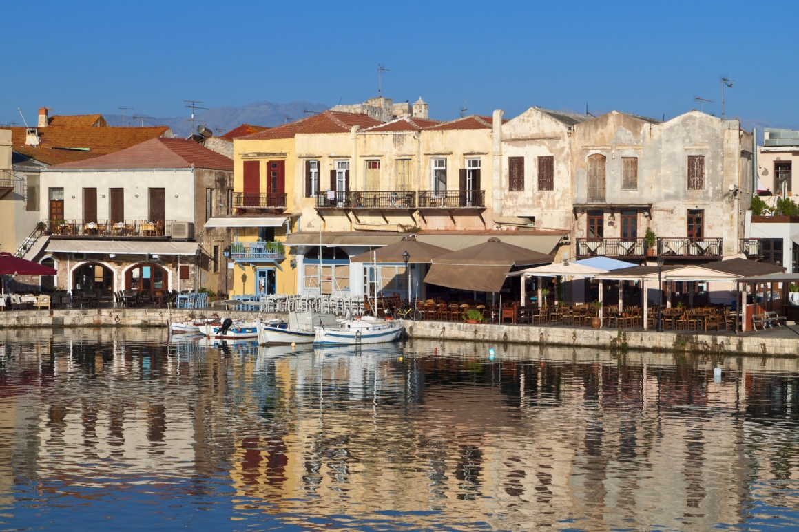 'Rethymno city and the old Venetian port at Crete island in Greece' - Kreta