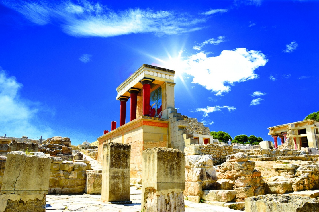 'Knossos palace at Crete, Greece Knossos Palace' - Kreta